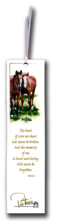 the bond of love bookmark