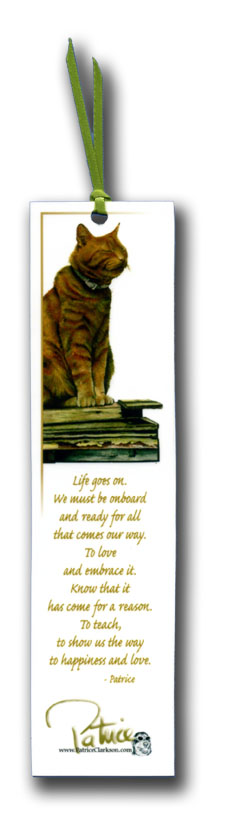 life goes on bookmark