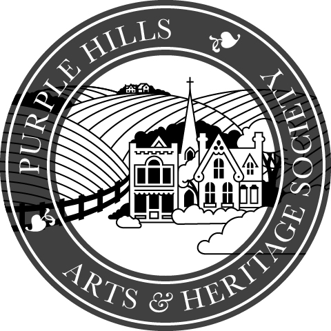 Purple Hills Art & Heritage Society Logo