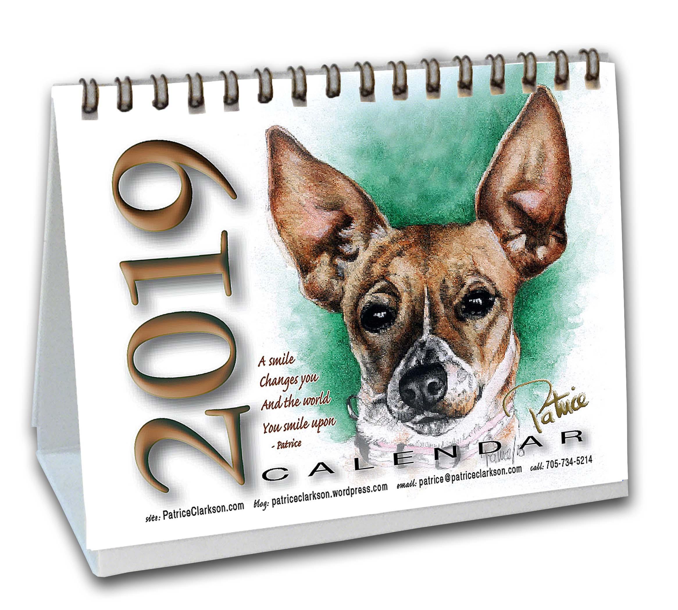 patrice's Art/Affirmation 2018 Calendar