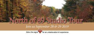 North of 89 Studio Tour Logo
