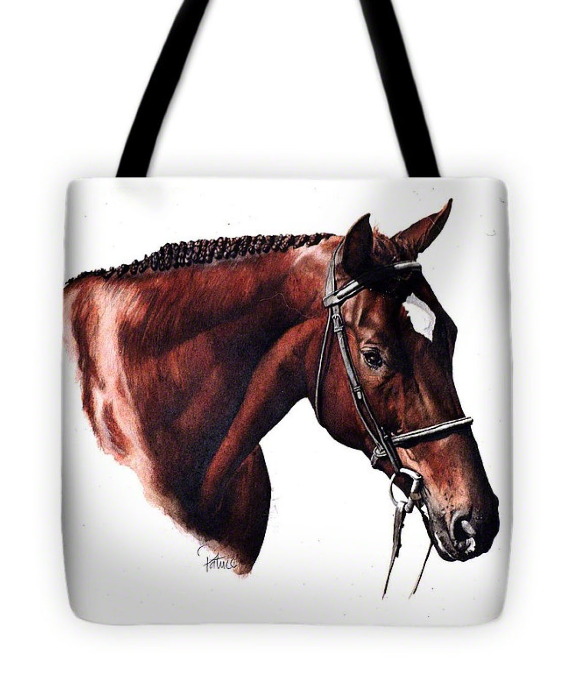 Dave's Horse Tote-Bag - Product by Patrice