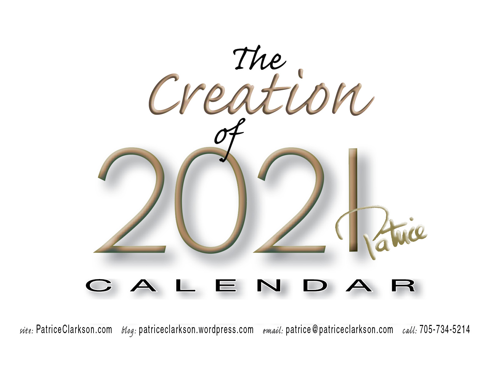 2021 Art & Affirmation Calendar Cover Creation